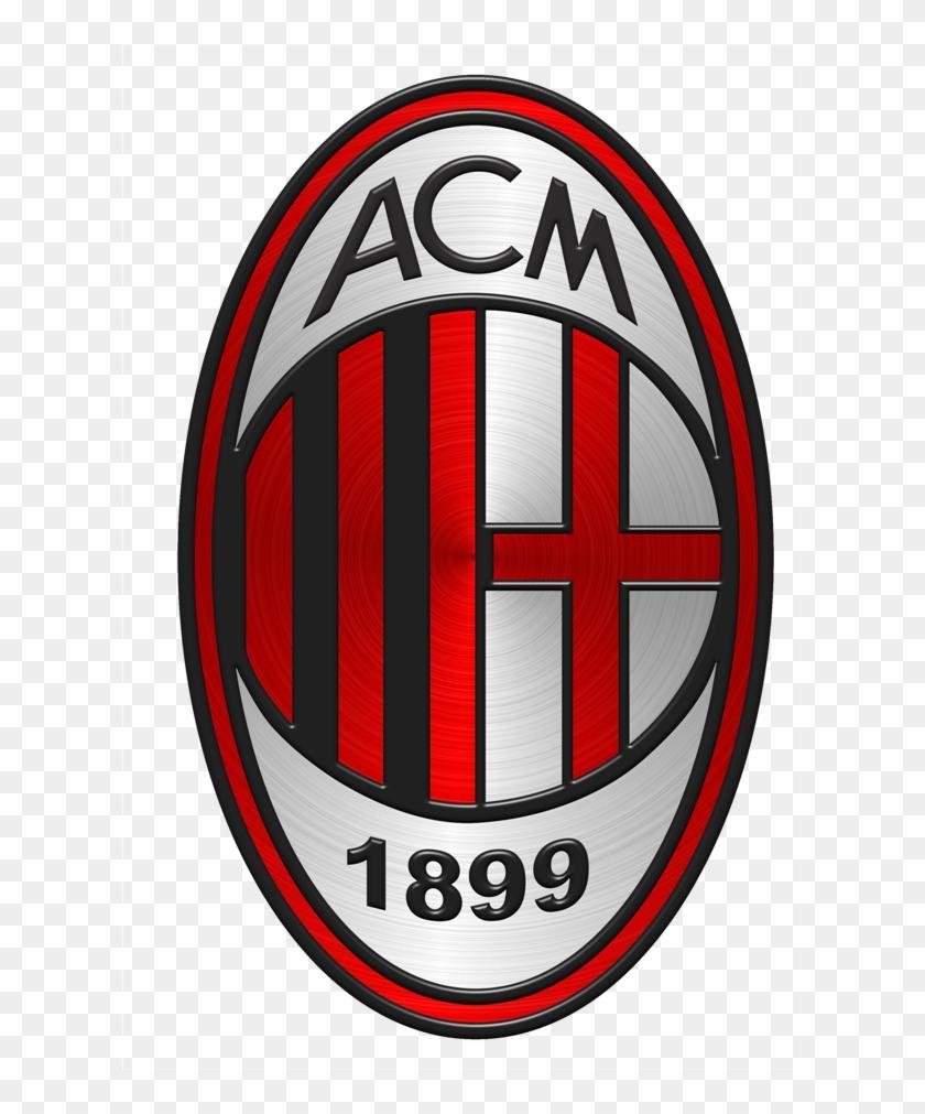 Ac Milan Logo Vector Png Sandcastle.