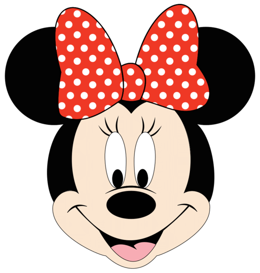 Minnie mouse logo clip art.