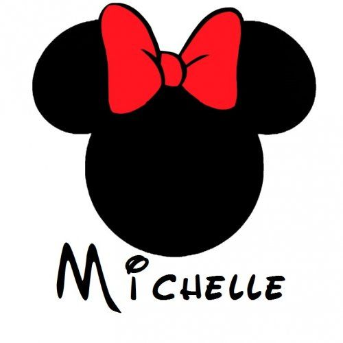 minnie mouse logo.