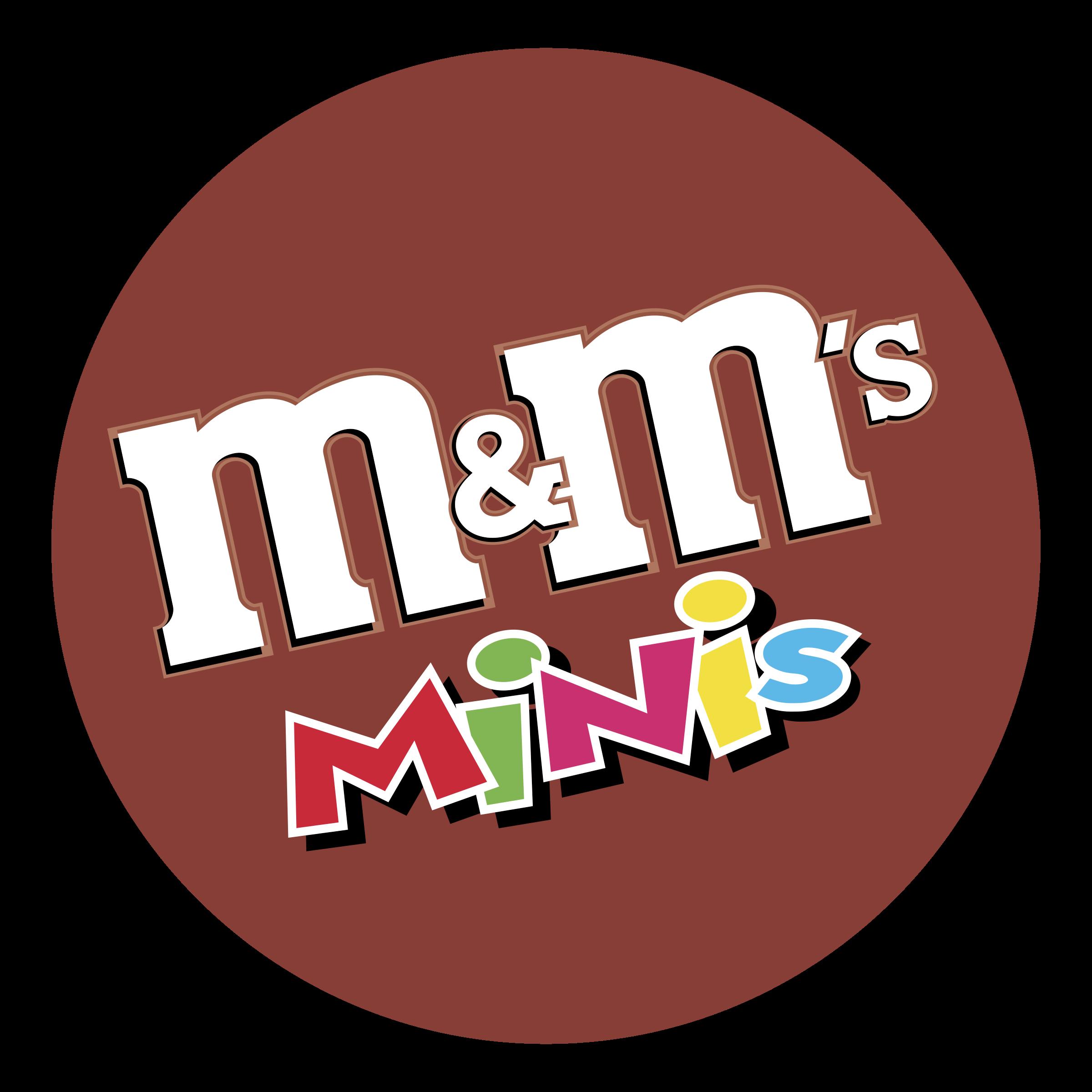 m&m's MINIs Logo PNG Transparent & SVG Vector.
