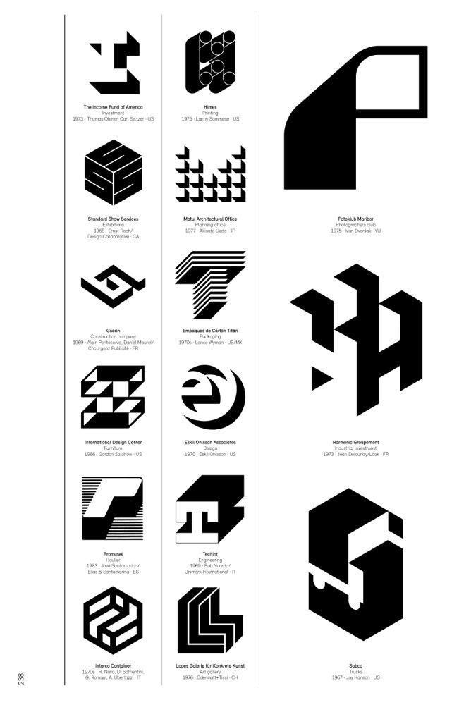 Logo Modernism is a brilliant catalog of corporate.