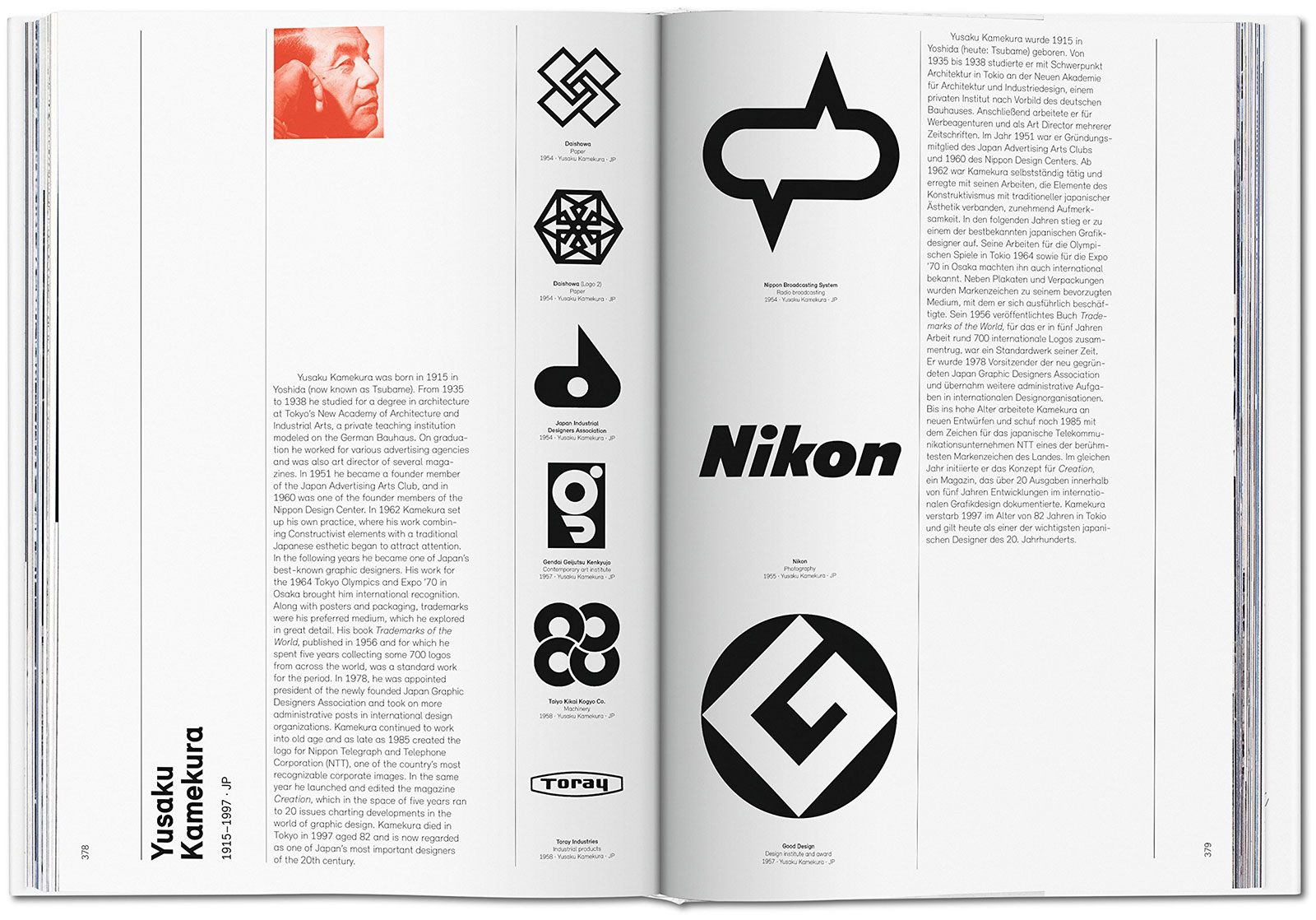 Logo Modernism, the Taschen book, by Jens Müller.