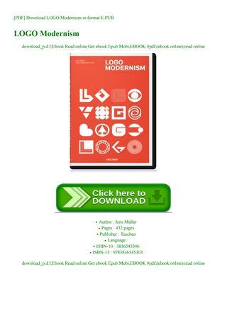 PDF] Download LOGO Modernism in format E.