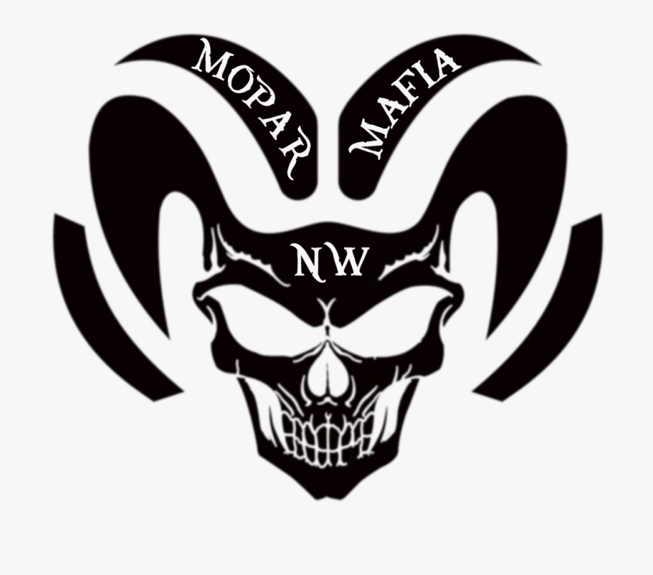 Nw Mopar Mafia Ram Head Decal.