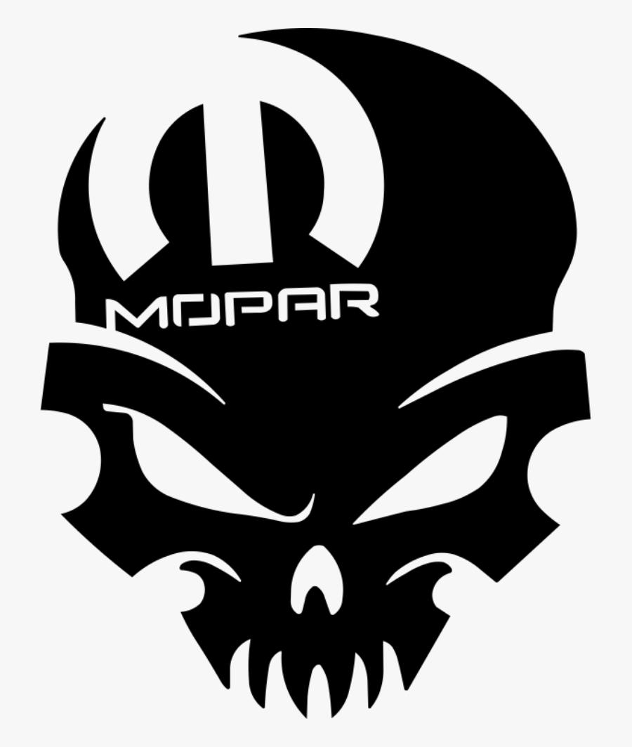 Mopar Skull , Free Transparent Clipart.