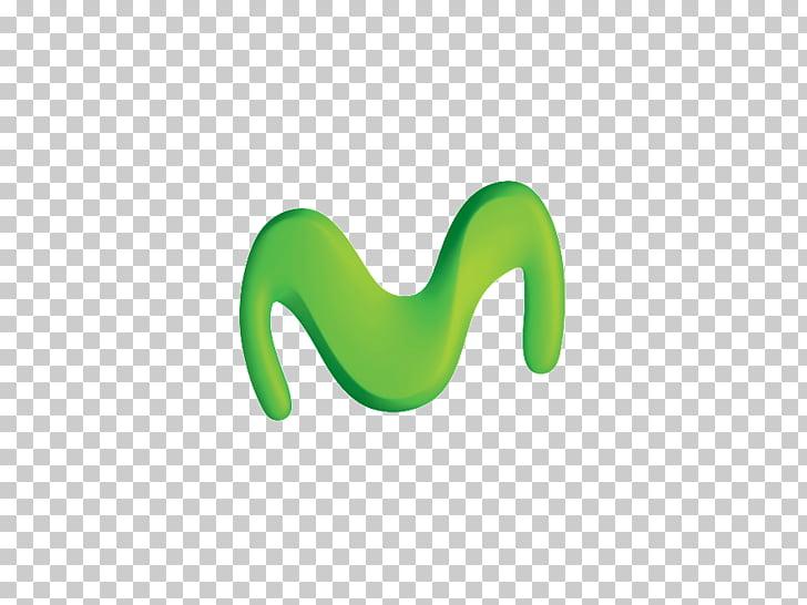 Movistar Logo, green wave illustration PNG clipart.