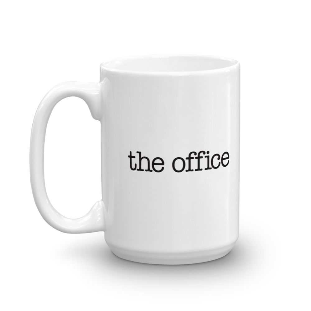 The Office Logo White Mug.