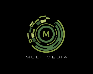 Multimedia Logo Designed by danoen.