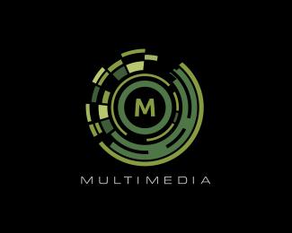 Multimedia Logo Designed by danoen.