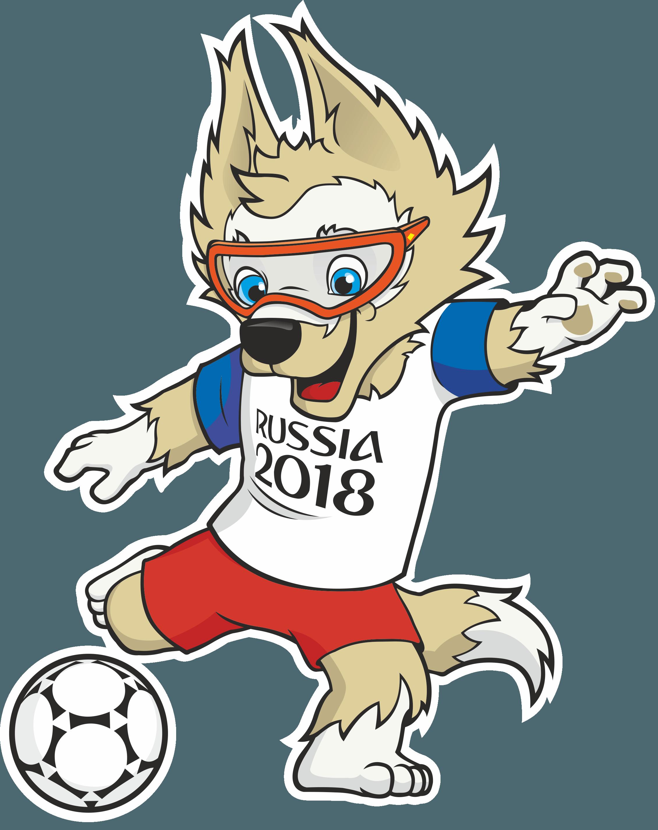 2018 FIFA World Cup Logo & Mascot.