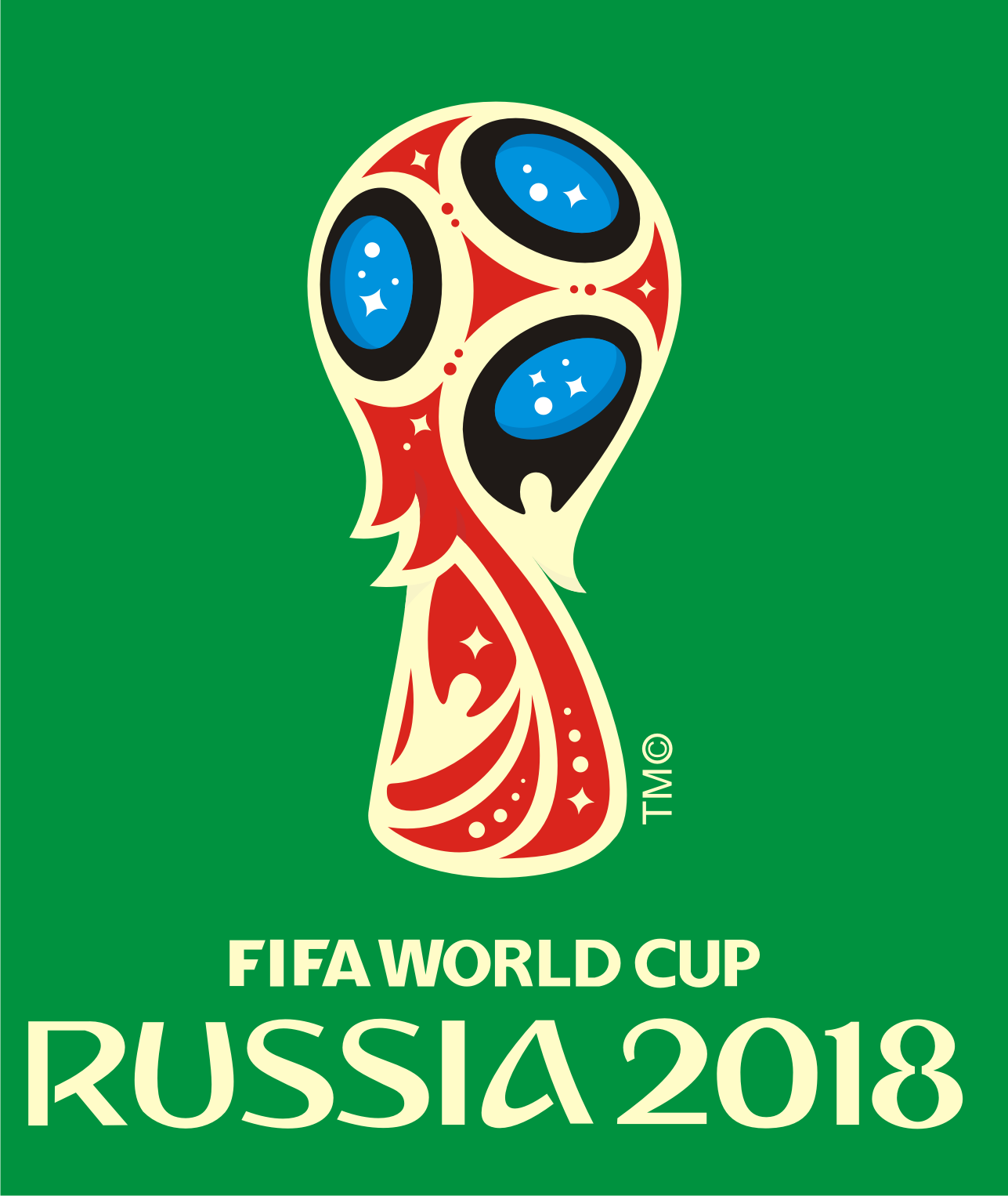 Logo Resmi Piala Dunia FIFA 2018 Rusia.