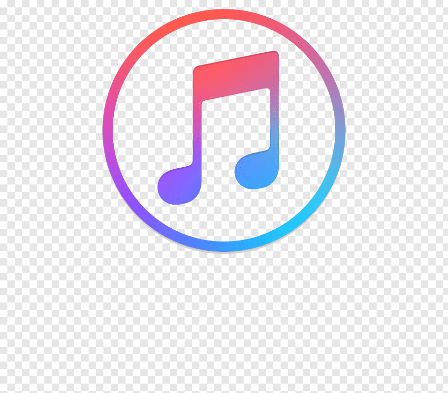 Round note logo music free png.