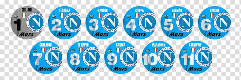 S.S.C. Napoli Button football Serie A Bundesliga, napoli.