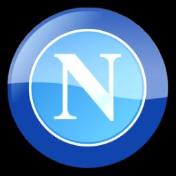 SSC Napoli Football Classic Teams Logo Image.