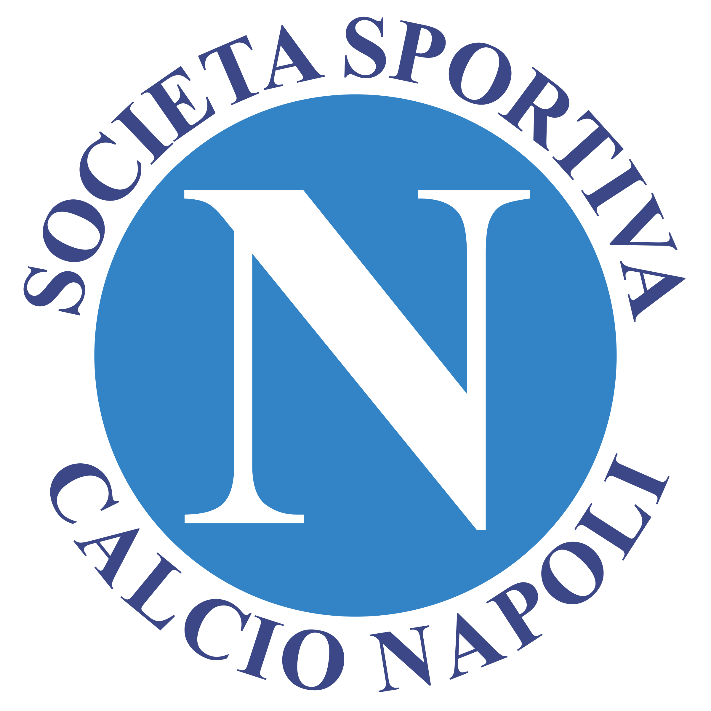 Napoli Logo PNG Transparent & SVG Vector.