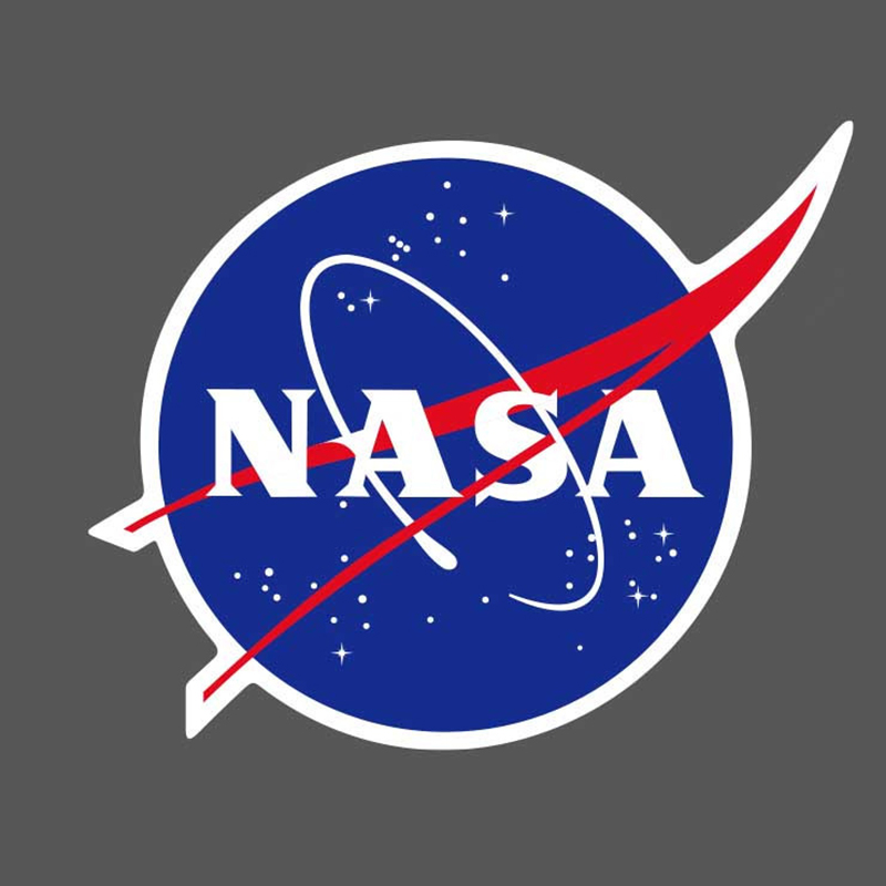 Details about 5Pcs/Lot NASA Logo Vinyl Stickers Skateboard Luggage Laptop  Phone Guitar Decals.