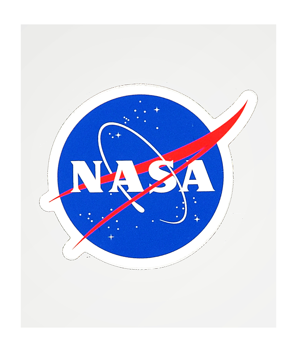 Neon Riot x NASA Logo Sticker.