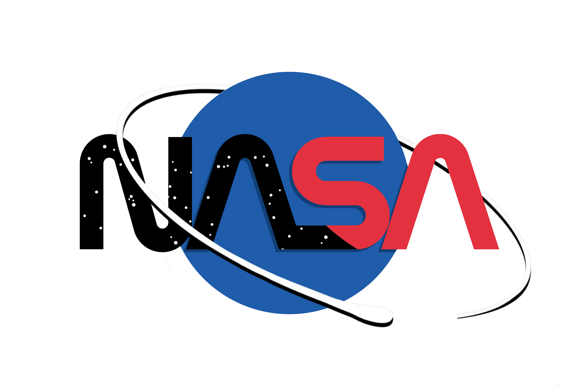 My design for a modern NASA logo. : nasa.