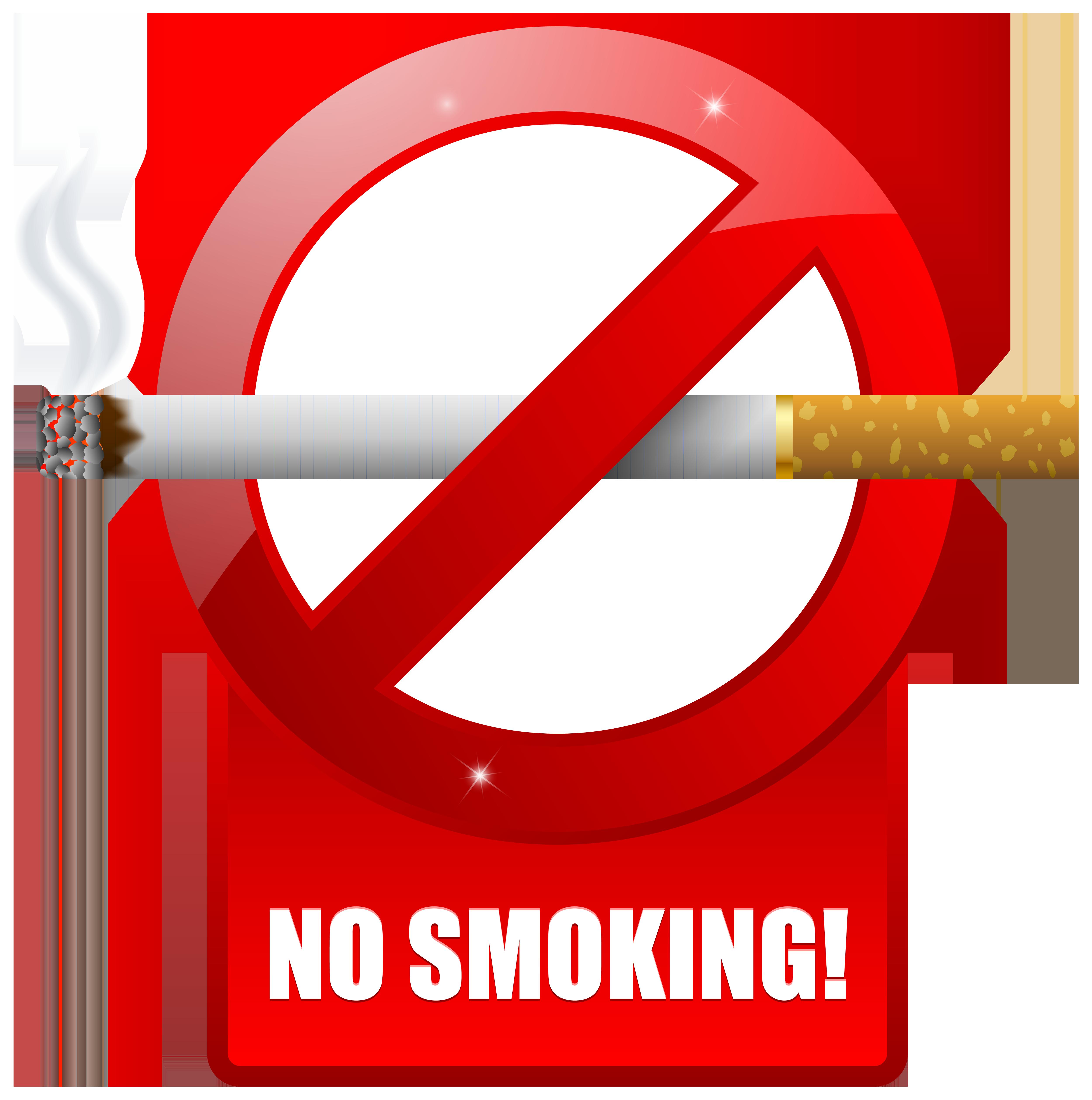 No Smoking PNG Warning Images, No Cigarette Smoking Clipart.