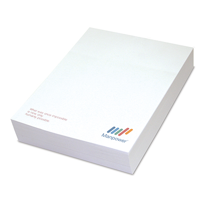 A4 Notepad Printing, Custom Logo Notepads, Personalized.
