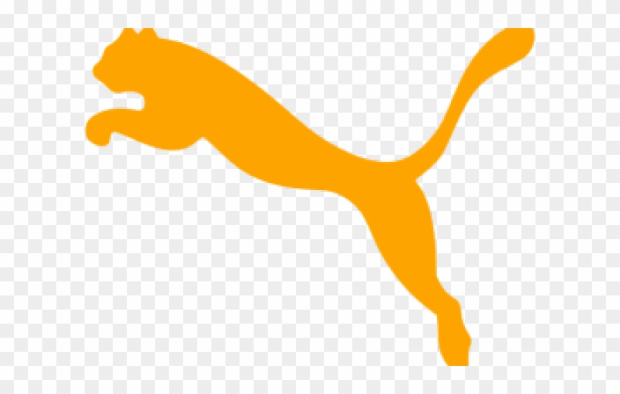 Puma Logo Clipart Orange.