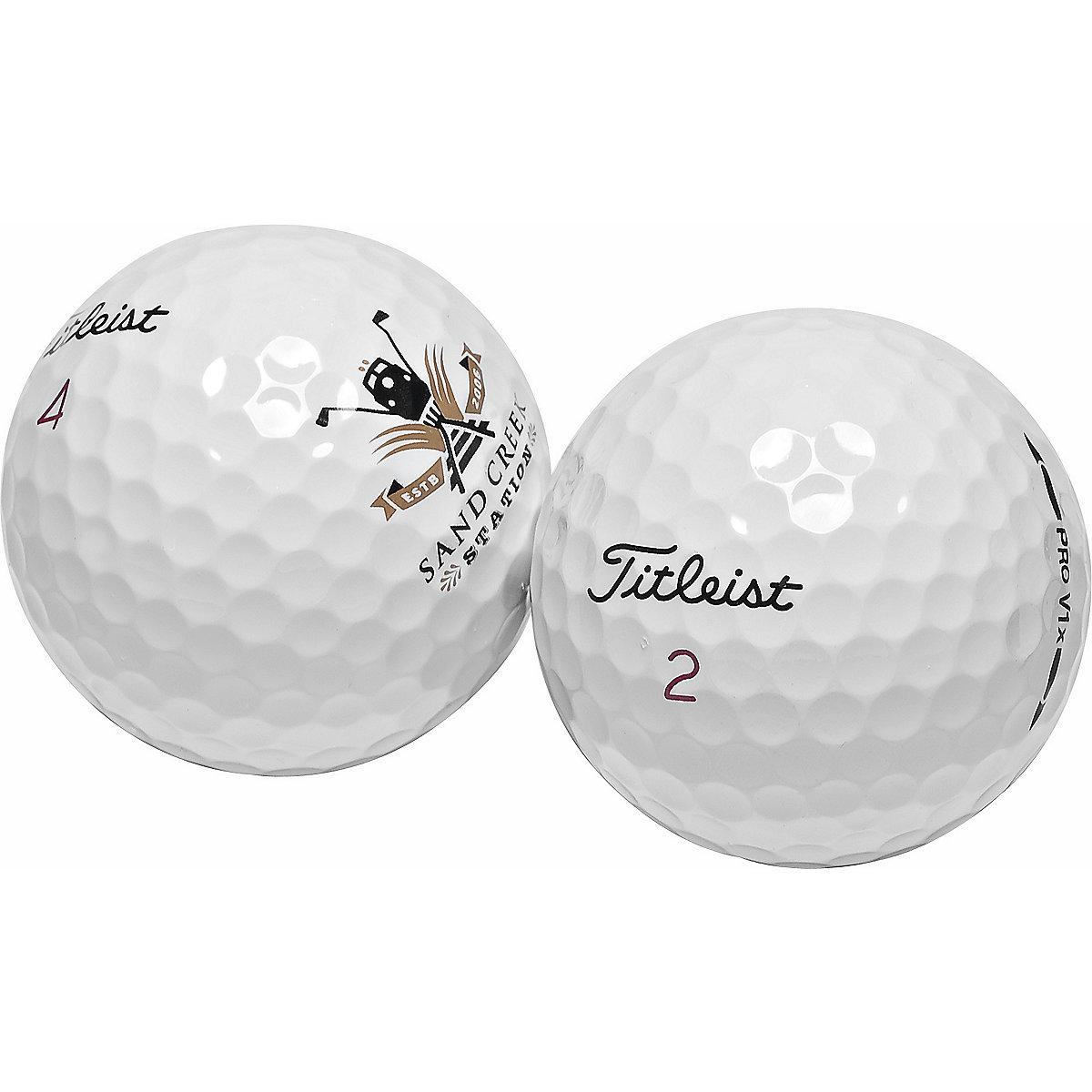 Titleist Pro V1 & Pro V1X Logo Overrun Golf Balls.