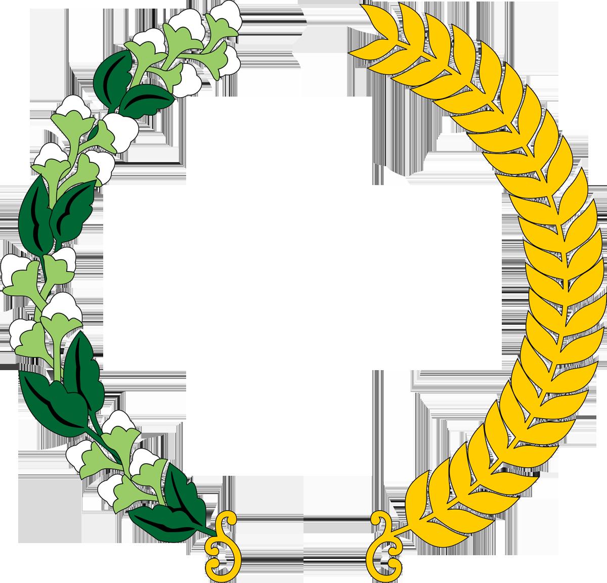 Logo padi dan kapas png 2 » PNG Image.