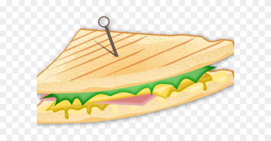 Sandwich Clipart Logo.