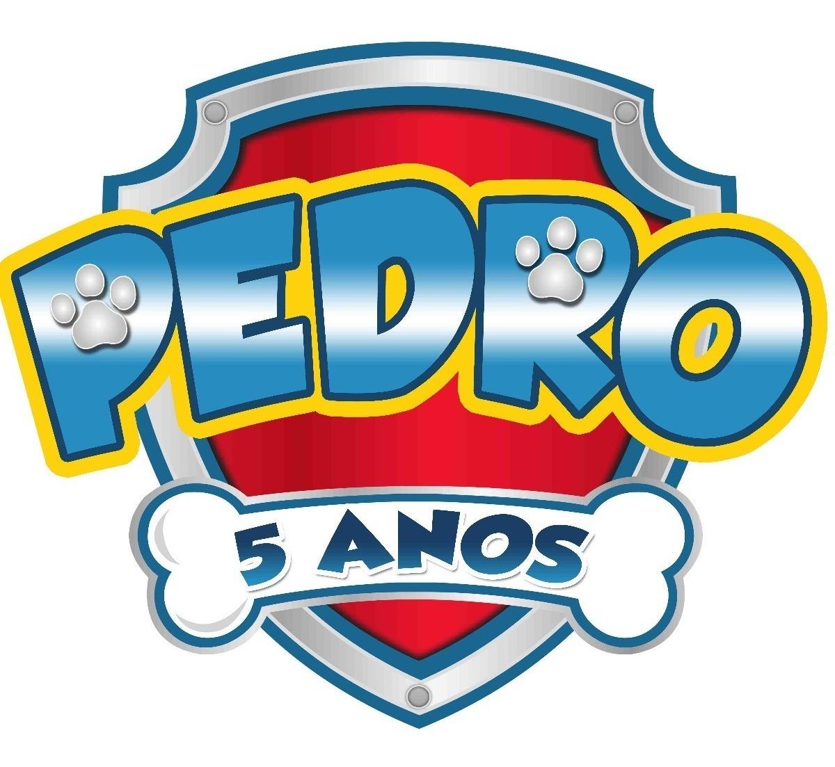 Arte Logo Patrulha Canina Com Nome Da Criança.
