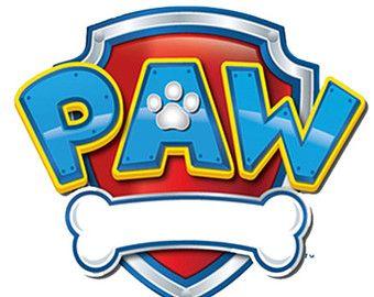 Paw Patrol Badges Clipart.