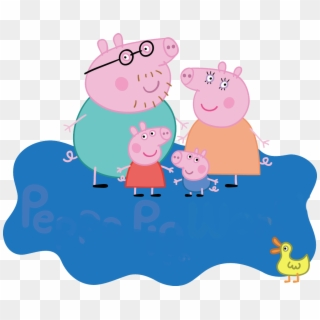 Free Peppa Pig Logo Png Transparent Images.