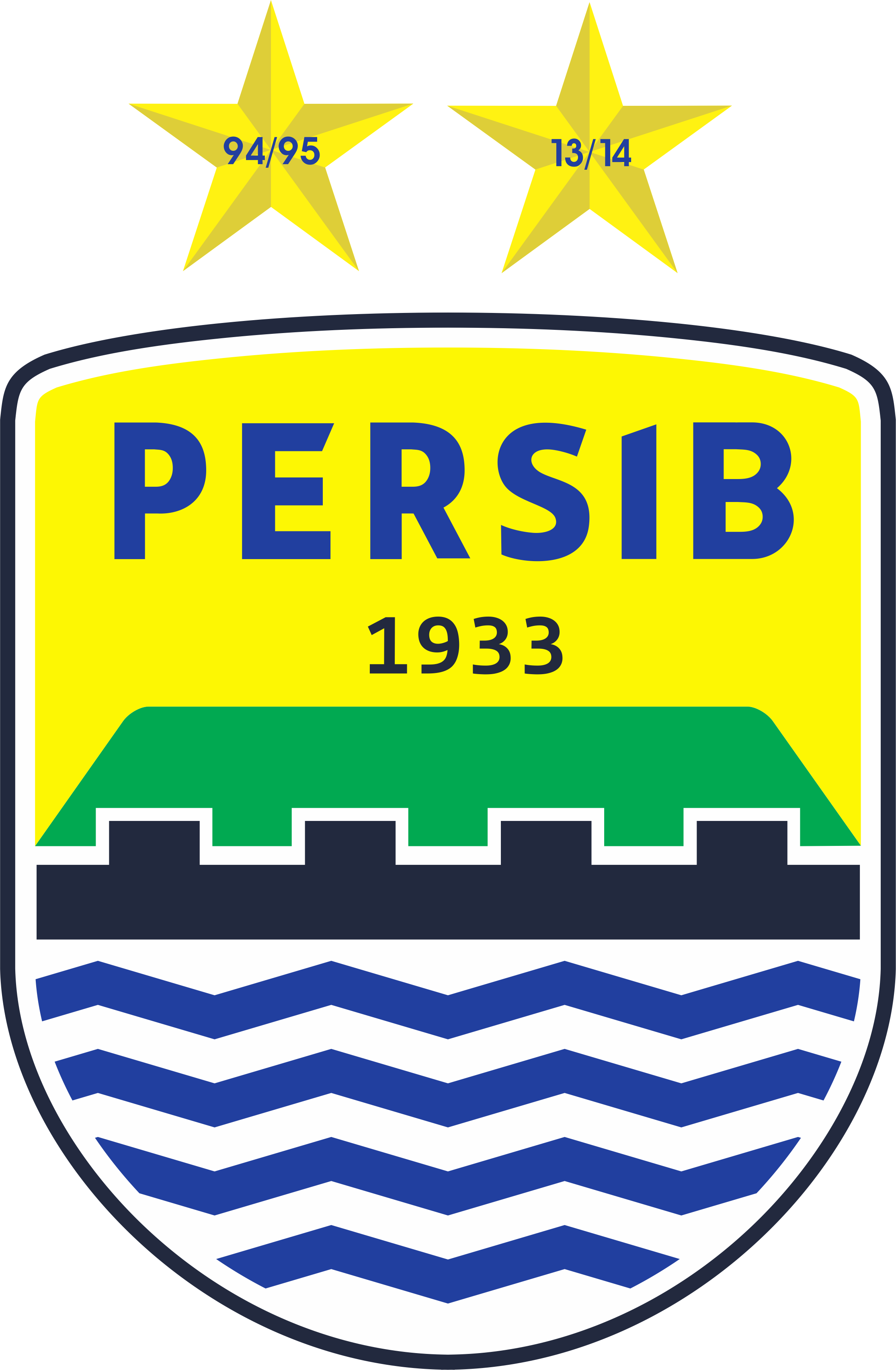 Persib Logo Vector Icon Template Clipart Free Download.