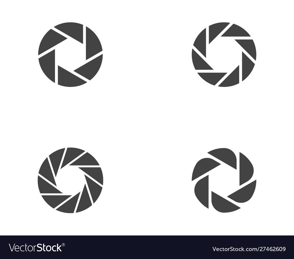 Photography logo design template.