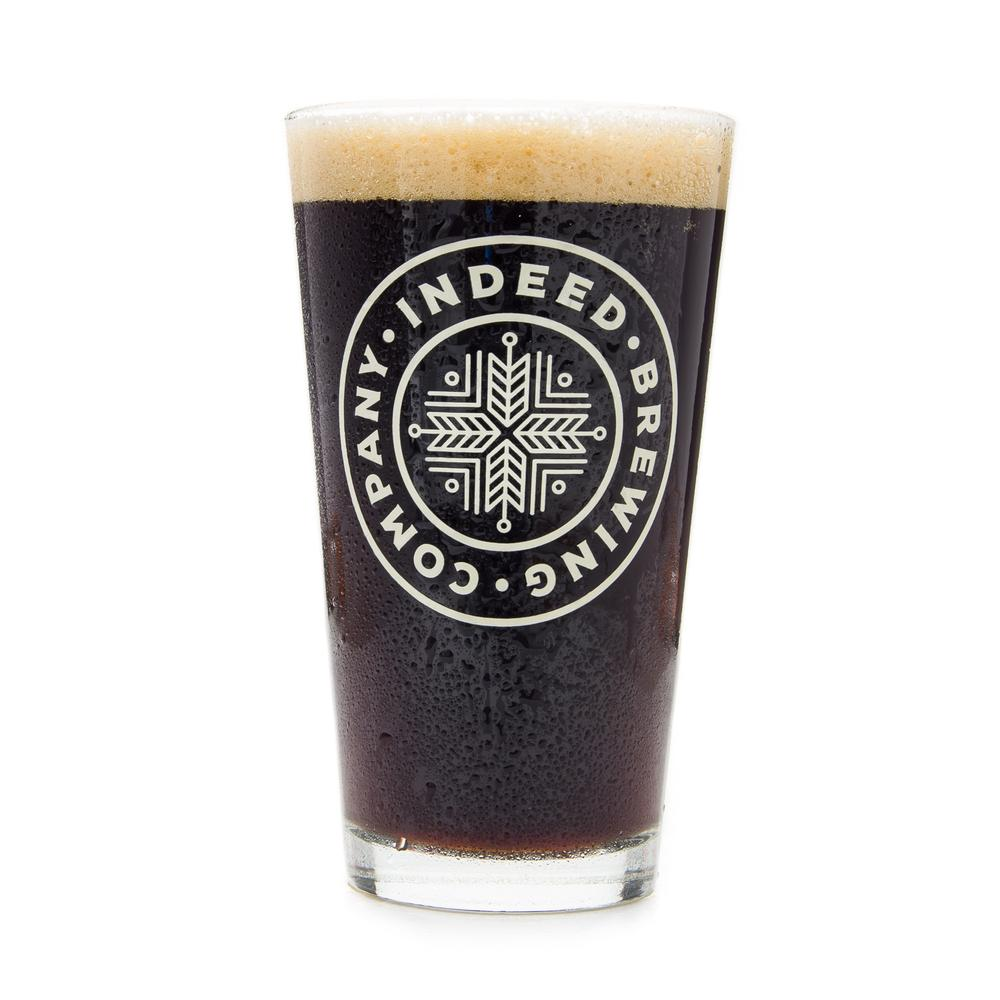 Indeed Brewing Pint Glass.