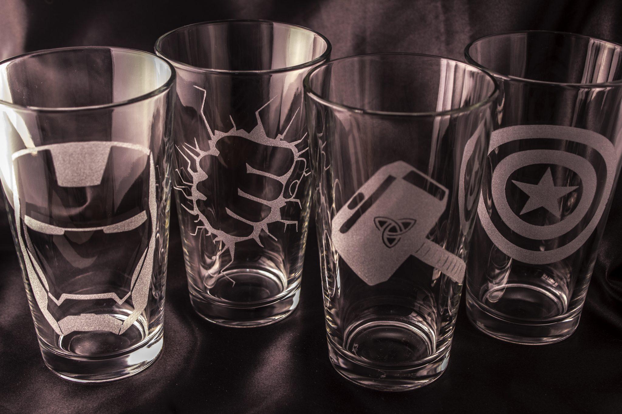 Avengers Pint Glass.