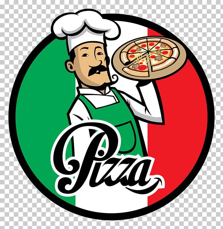 Pizza delivery Italian cuisine Chef, Pizza icon logo design.