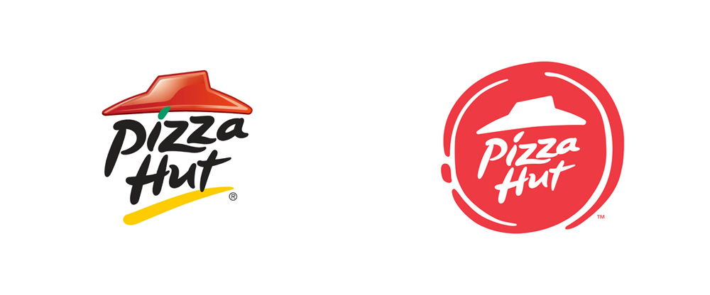 Brand New: New Logo and Identity for Pizza Hut by Deutsch LA.