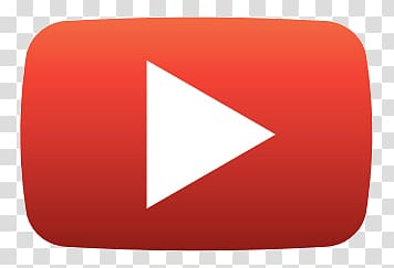 Youtube logo, Play Youtube Classic Button transparent.