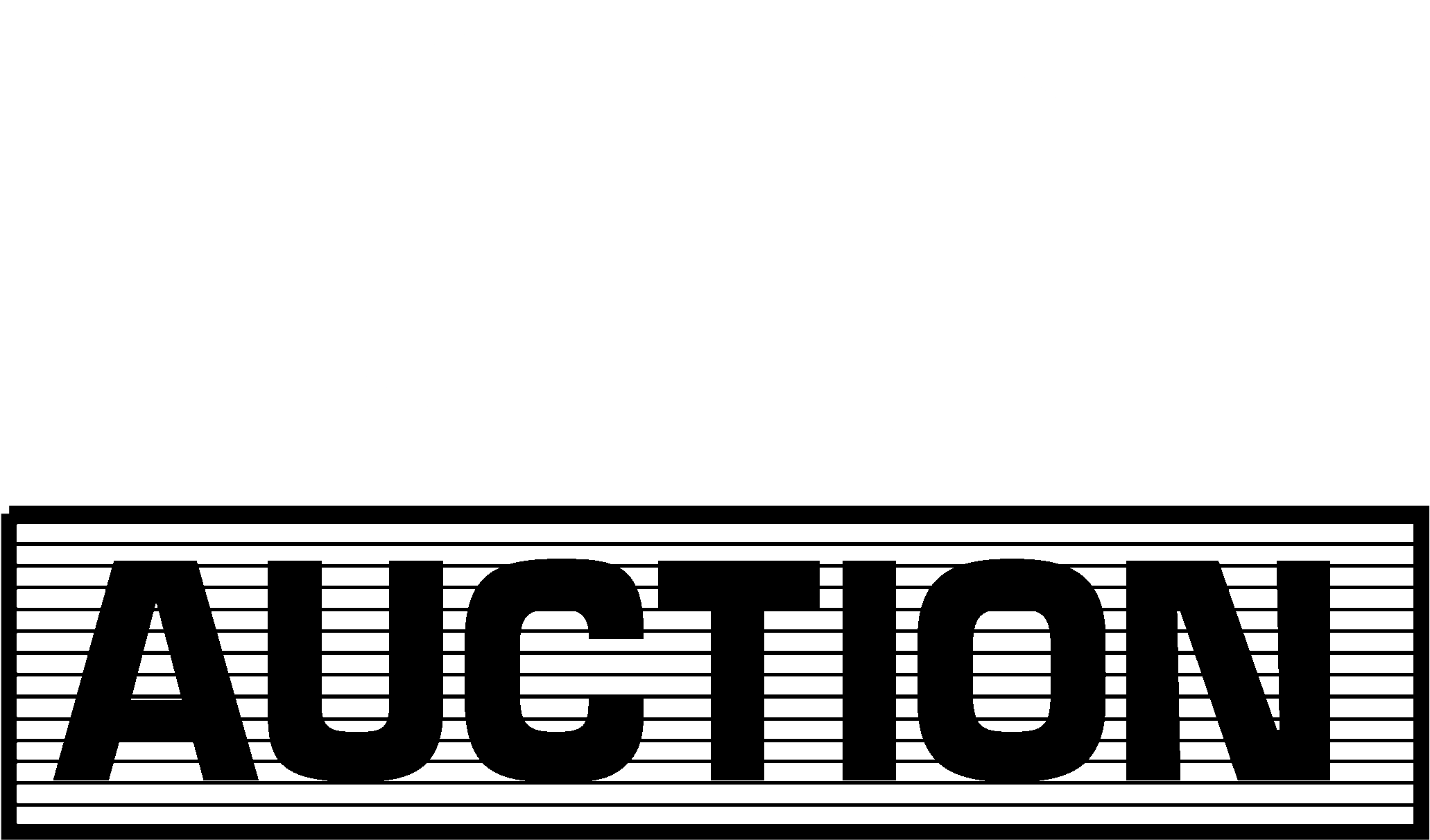 Pmi Auction Logo Black And White Auction White.