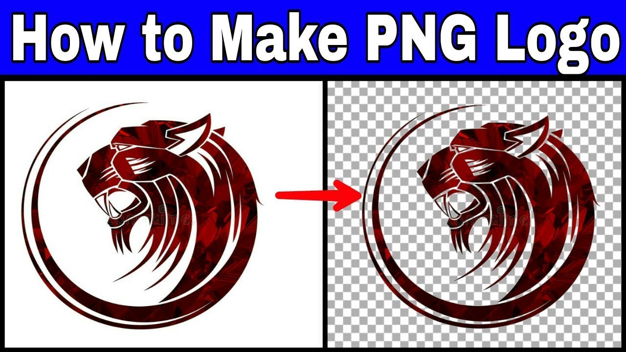 How to Make PNG Logo in picsart for Youtube videos.