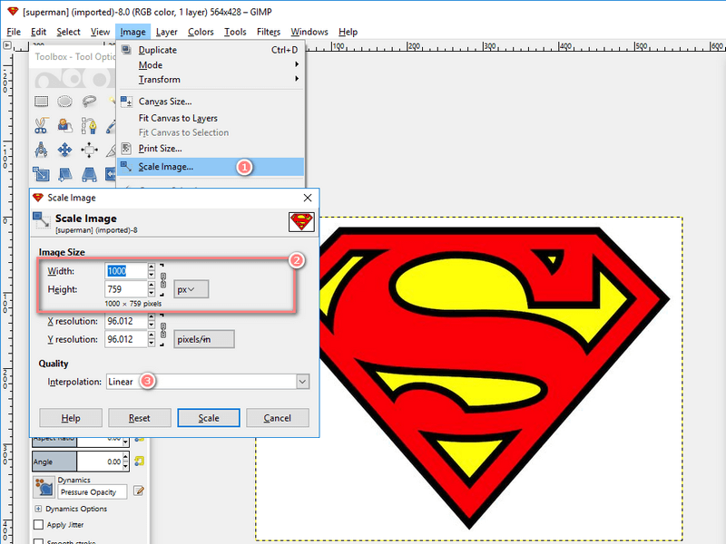 How to Resize Logo Image in Pixels Correctly.
