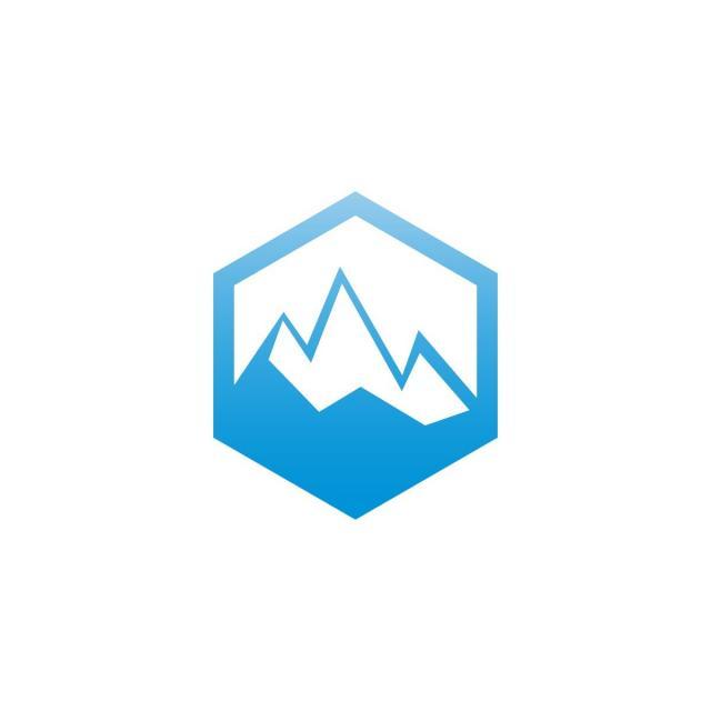 Mountain Nature Logo Design Template, Outdoor, Mountain.