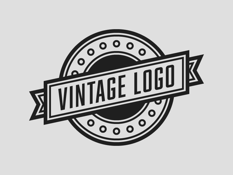 Vintage Logo Template.