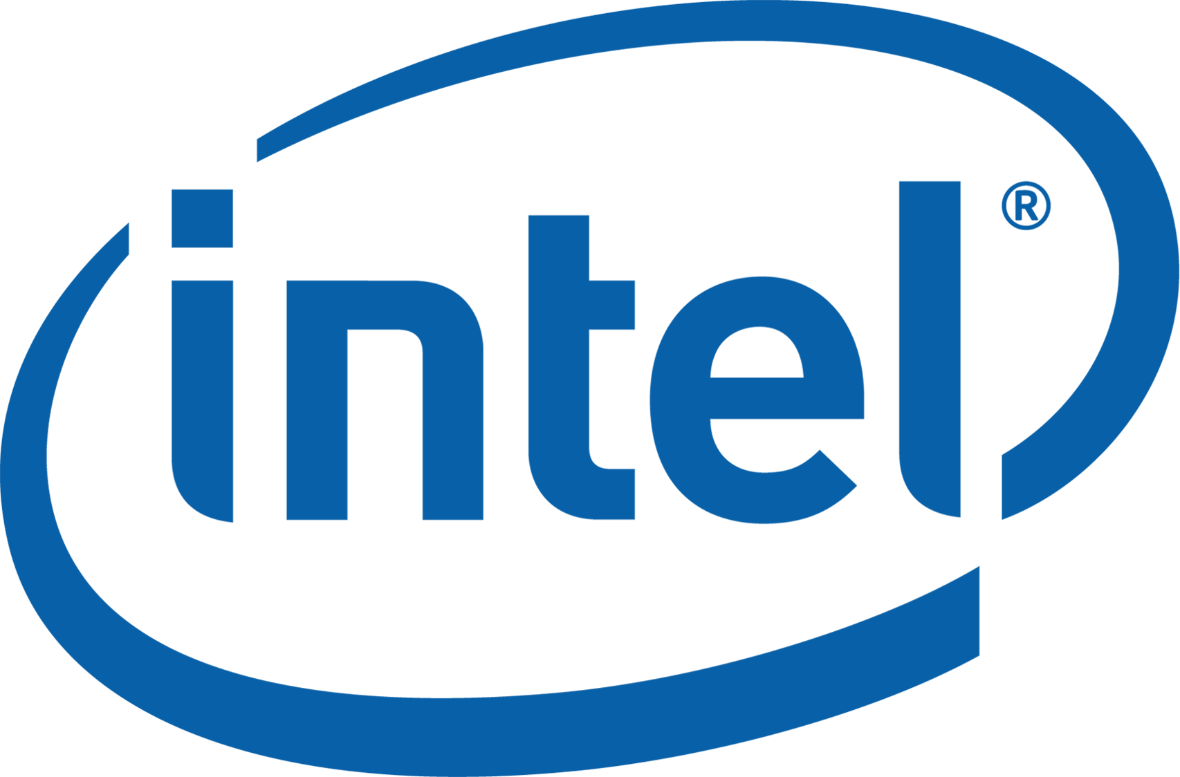 Intel logo PNG.