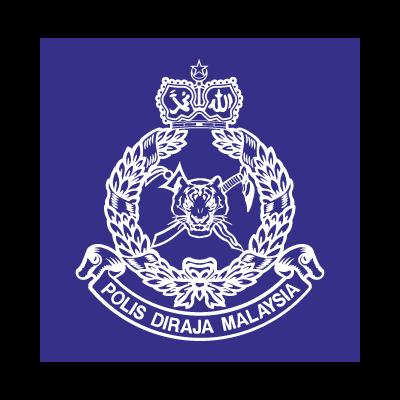 Polis Diraja Malaysia vector logo.