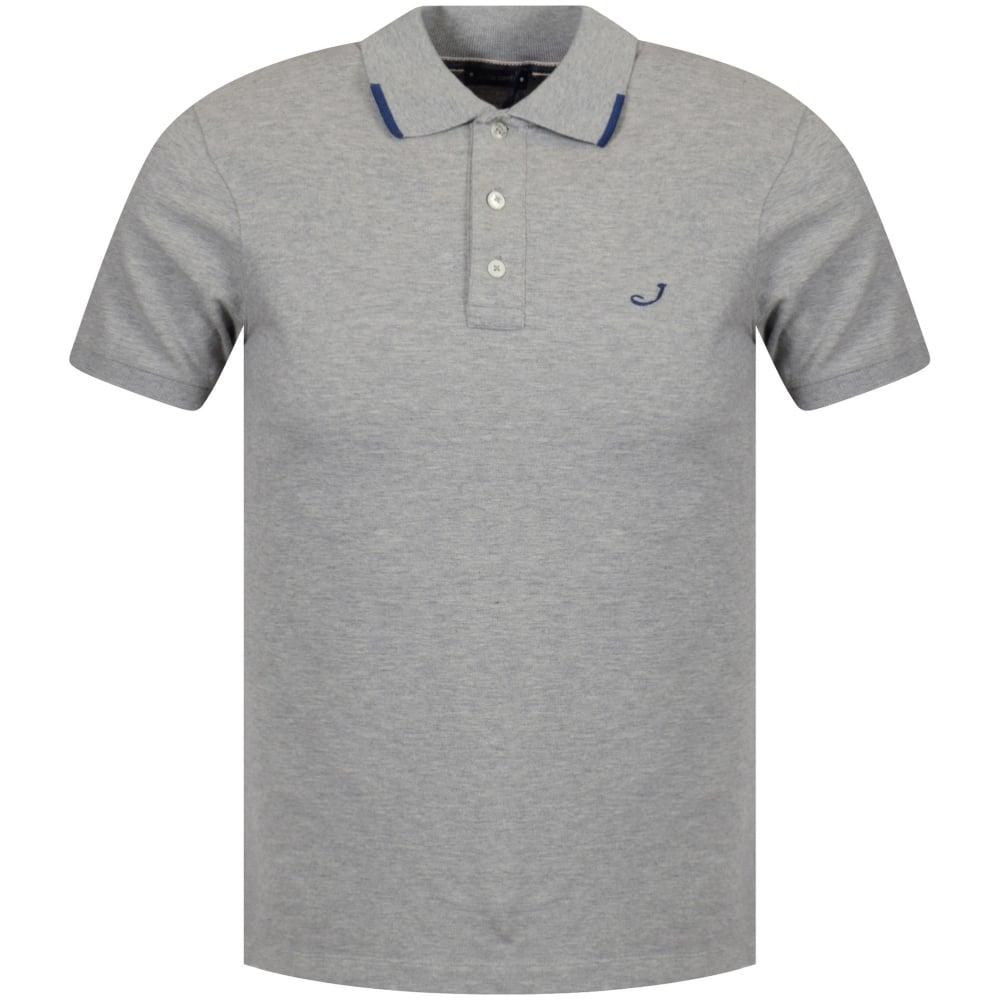 JACOB COHEN Jacob Cohen Grey Logo Polo Shirt.