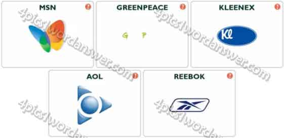 Logo Pop Logo Quiz Level 17 Answers.
