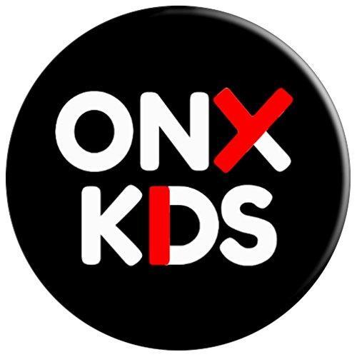 Onyx Kids Logo Popsocket Black.