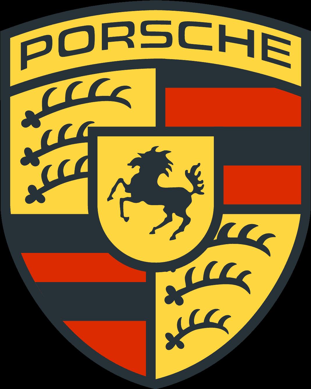 Logo Porsche Vector , Transparent Cartoon.