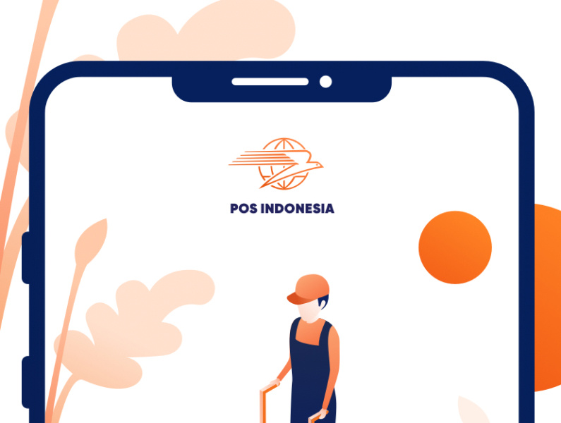 POS Indonesia Onboarding Screen by Ardias Elga Kurnia for.